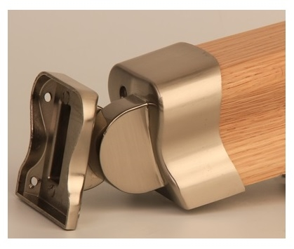 Hdr Brushed Nickel Handrail Connector